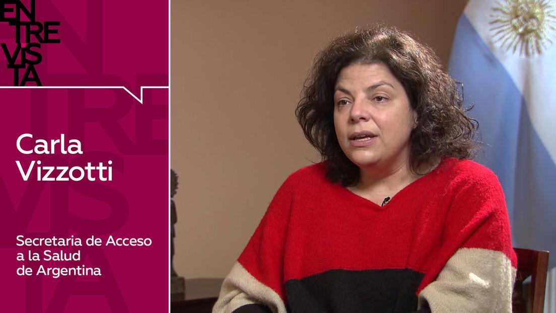 La secretaria de Acceso a la Salud de Argentina explica cómo será el proceso de traslado a Buenos Aires de la vacuna rusa Sputnik V