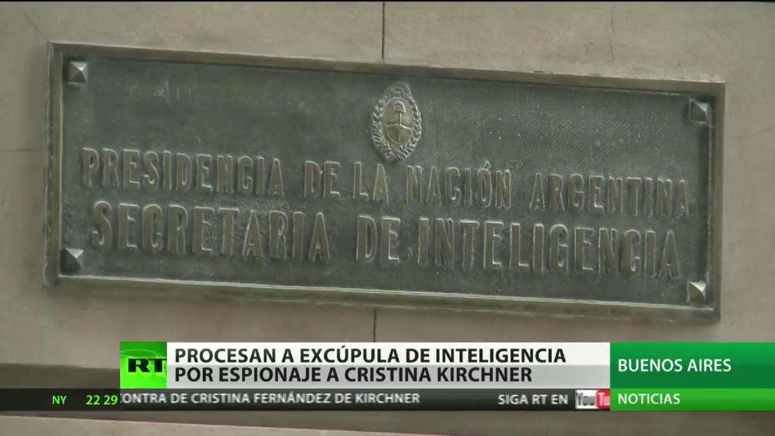Procesan en Argentina a dos exdirectivos de la cúpula de Inteligencia por espionaje a Cristina Kirchner