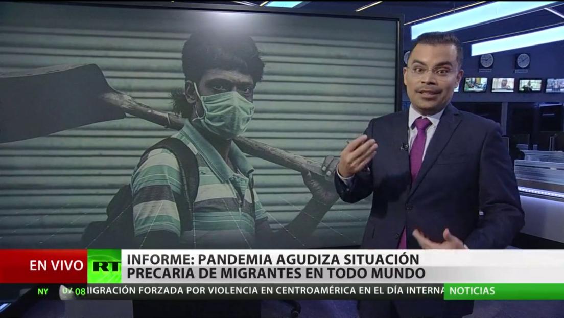 Un informe denuncia que la situación de los migrantes se agudiza en todo el mundo por la pandemia