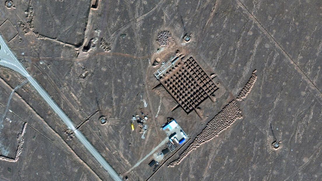 Imágenes satelitales muestran lo que serían trabajos de construcción en un sitio nuclear iraní