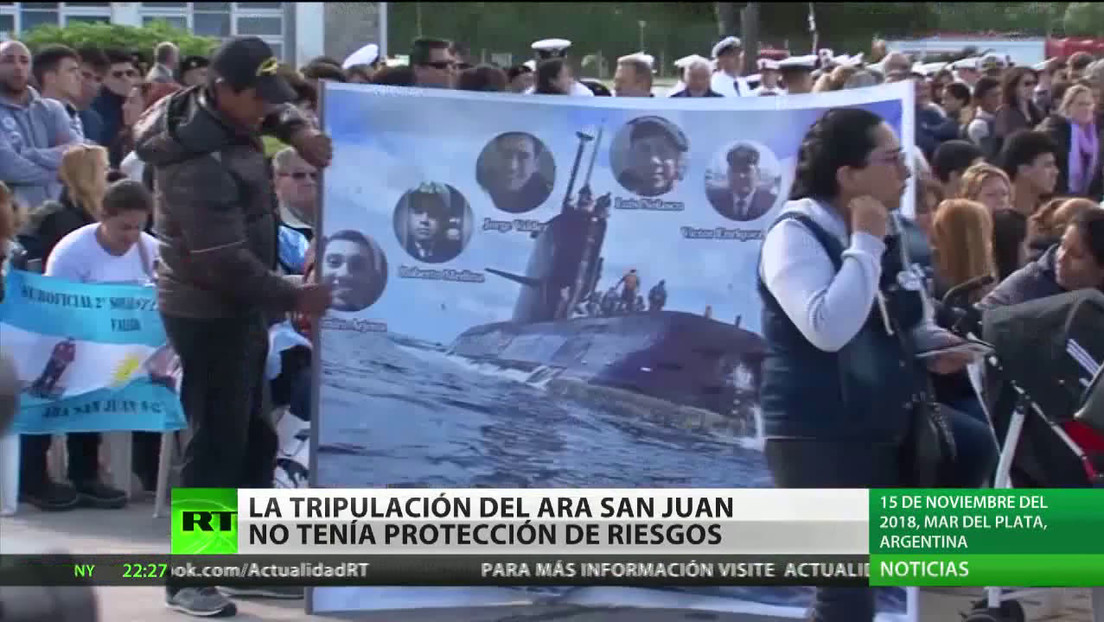 Argentina: la tripulación del submarino ARA San Juan nunca tuvo póliza de protección de riesgos