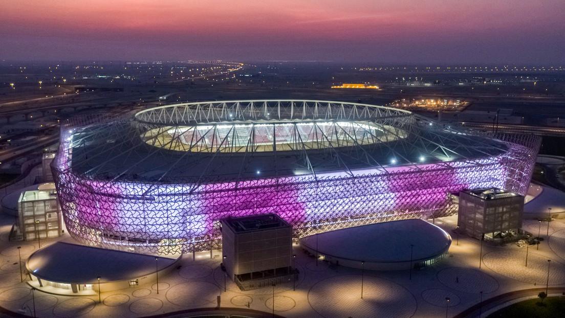 """FOTOS: Catar inaugura un nuevo estadio """"extraordinario"""" para la próxima Copa Mundial de la FIFA 2022"""