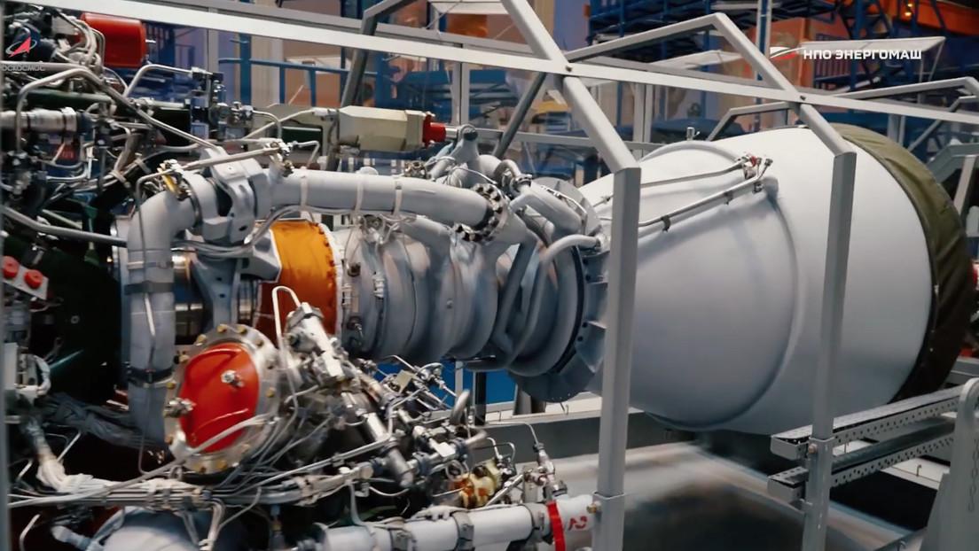 El motor cohete propulsor de combustible líquido más potente del mundo, de fabricación rusa, supera con éxito las primeras pruebas de encendido (FOTO)