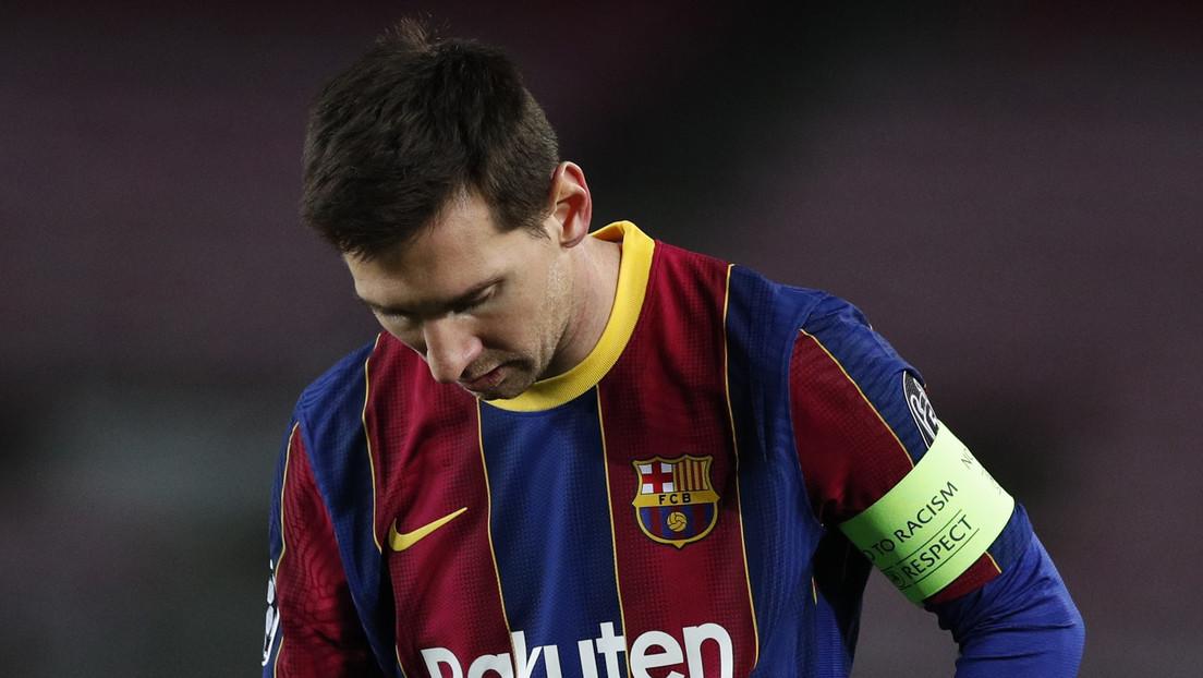 """Exjugador del F.C. Barcelona afirma que Lionel Messi """"vive un momento de decidir si se va o se queda"""" en el club"""