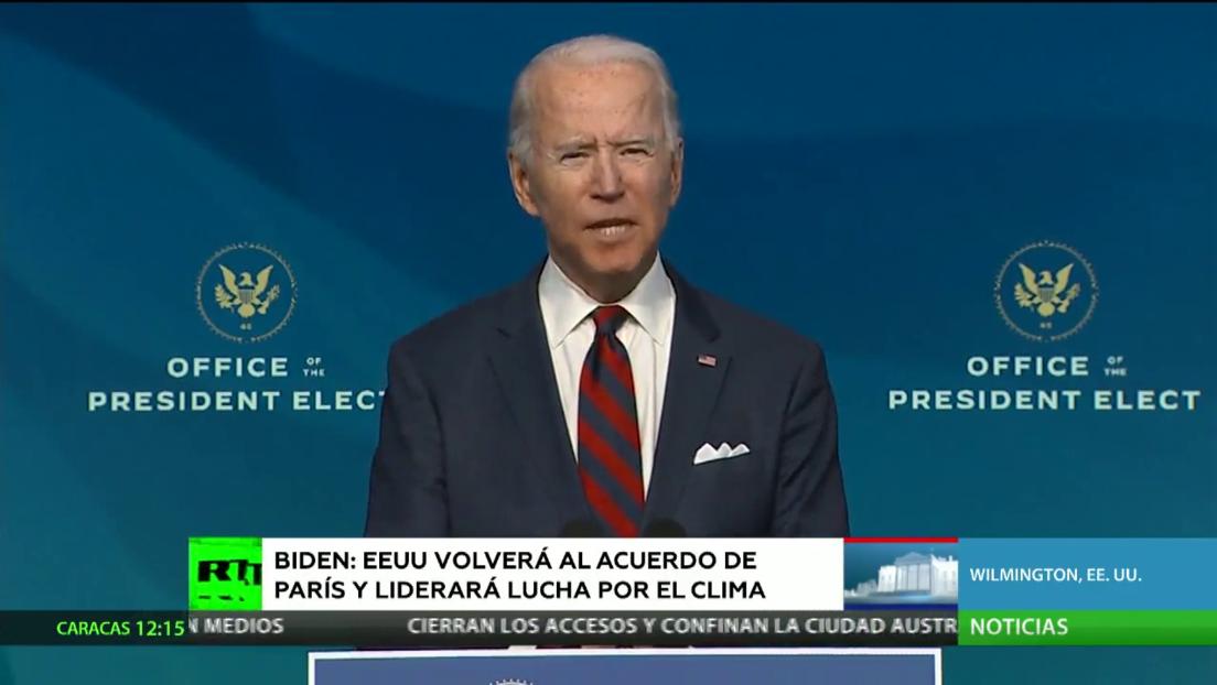 La victoria de Joe Biden en las elecciones presidenciales es confirmada por el Colegio Electoral