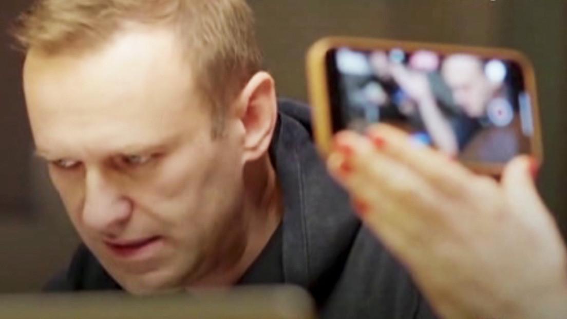 El FSB tacha de falsa la supuesta conversación telefónica de Navalny con uno de sus agentes