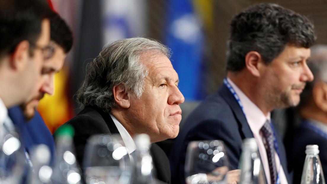 Parlasur investigará a Almagro por su papel en el golpe de Estado contra Evo Morales en octubre del 2019
