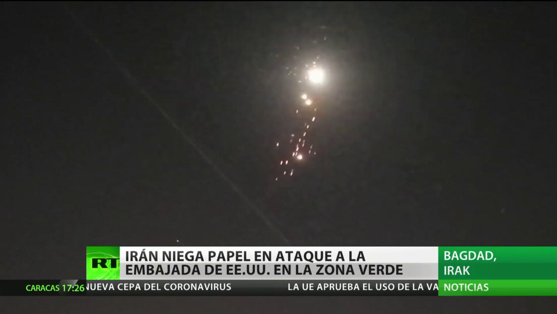 Irán niega las acusaciones de EE.UU., que lo sitúa detrás del ataque contra la Embajada estadounidense en Irak