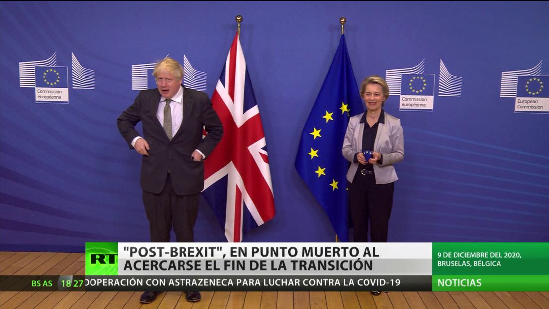 El acuerdo 'post-Brexit', en punto muerto a pocos días de la fecha límite del periodo de transición