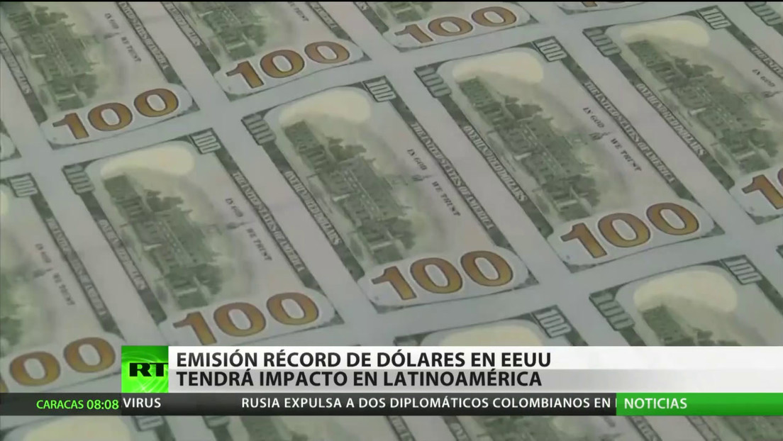 La emisión monetaria récord en EE.UU. tendrá un impacto en América Latina