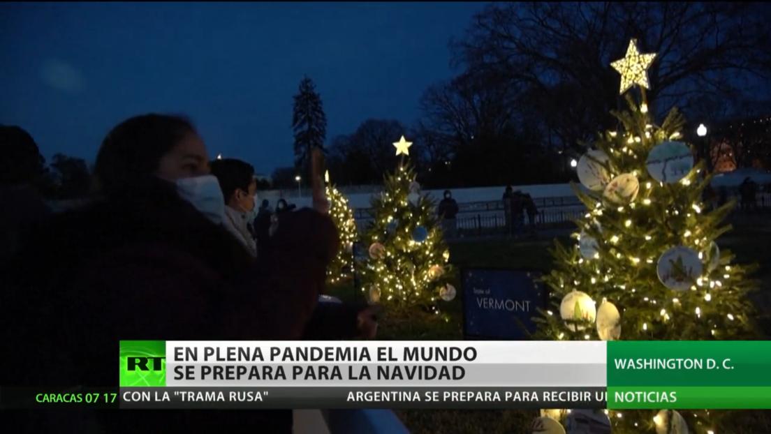 Espíritu festivo: El mundo se prepara para celebrar la Navidad en plena pandemia