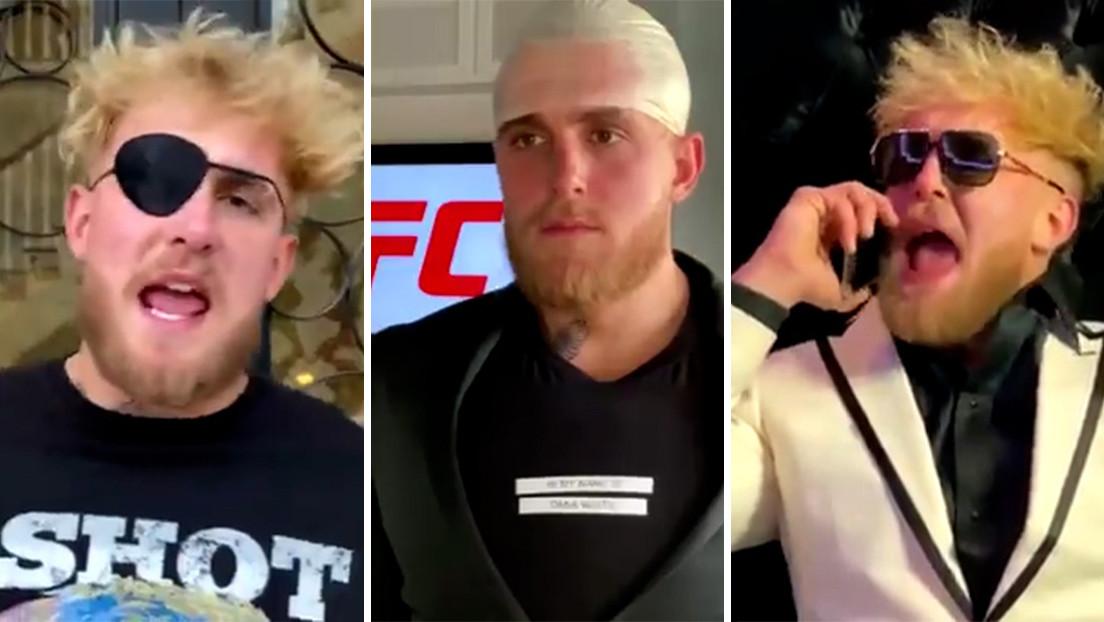 El 'youtuber' Jake Paul se burla del mundo de MMA con una serie de parodias