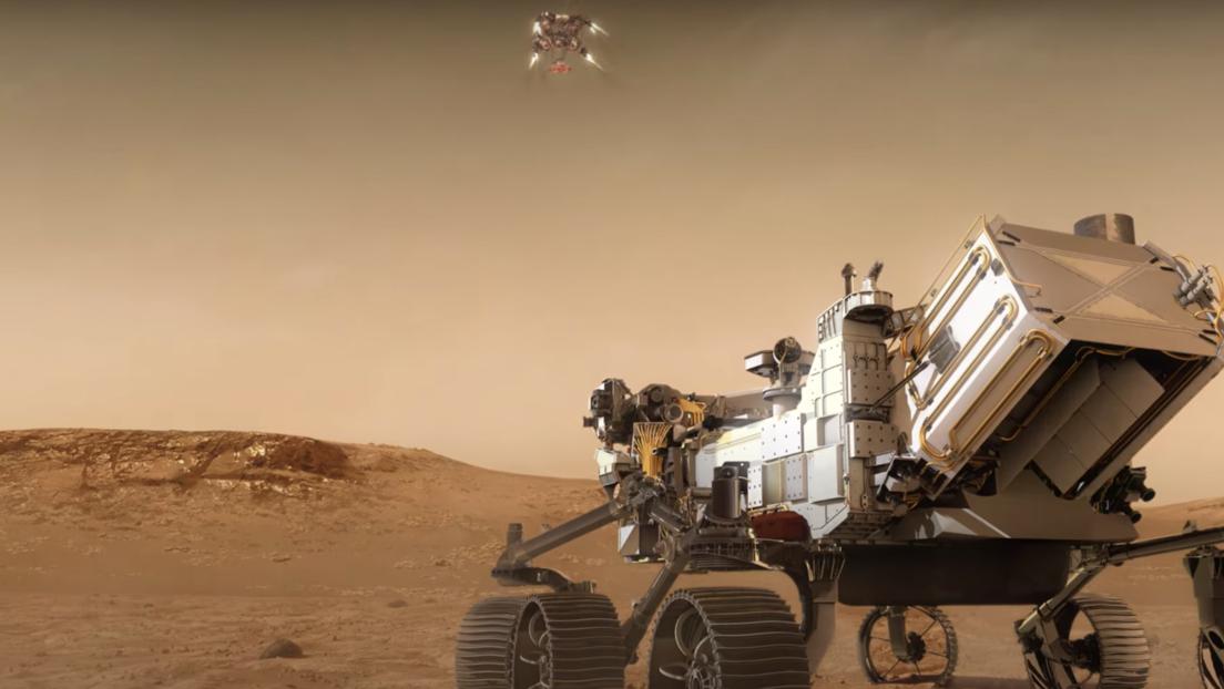 VIDEO: Simulan cómo un róver de la NASA aterrizará en Marte