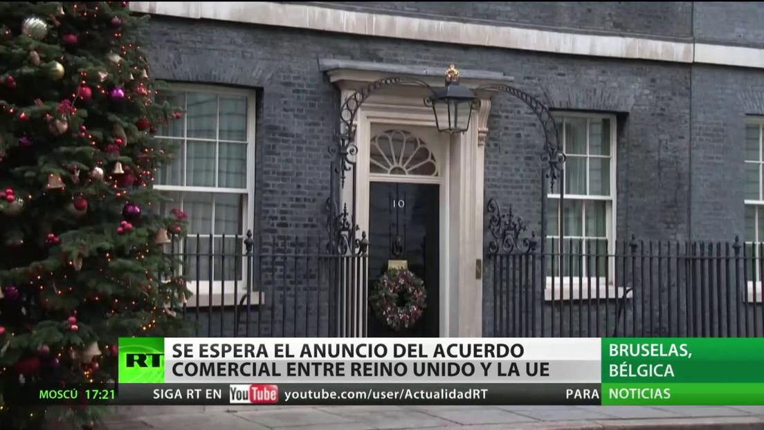 Se espera el anuncio del acuerdo comercial entre la UE y Reino Unido