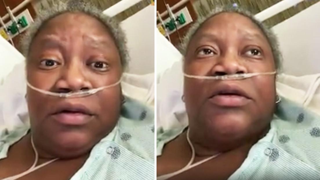VIDEO: Doctora con covid-19 lanza SOS poco antes de morir exigiendo un mejor trato para los afroamericanos enfermos