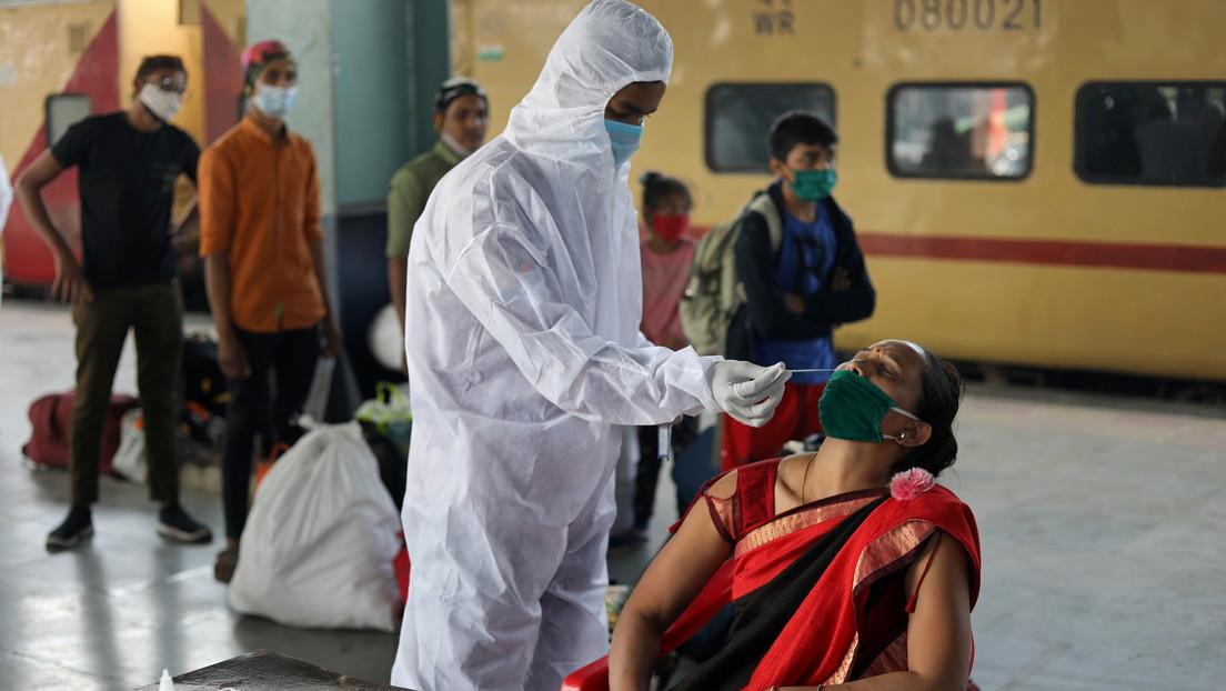 La India reporta un brote de una infección fúngica mortal desencadenada por el covid-19