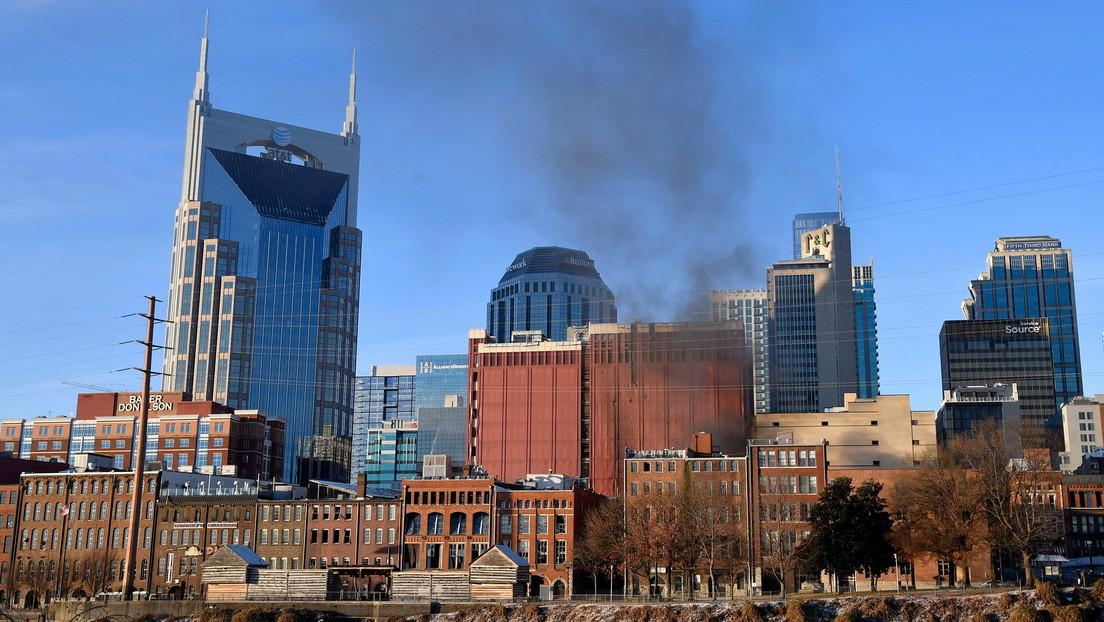 Varios edificios afectados tras explotar un vehículo en una calle de Nashville  en EE.UU. (VIDEOS, FOTOS)