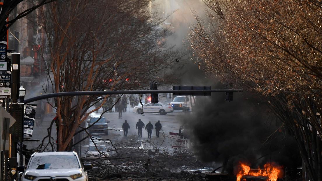"""La Policía califica la explosión en Nashville como un """"acto intencional"""""""