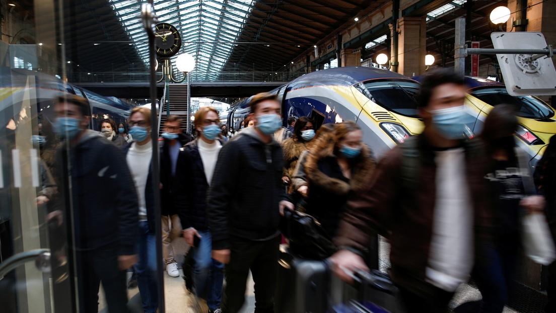 Francia detecta un primer caso de la nueva cepa de coronavirus identificada en Reino Unido