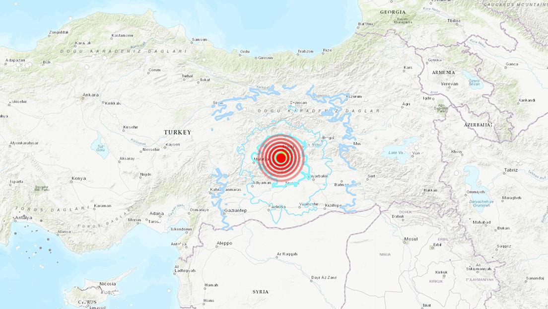 Se produce un terremoto de magnitud 5,4 en Turquía