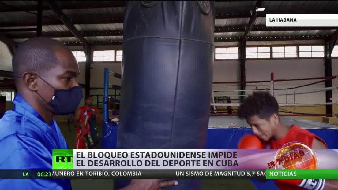 El bloqueo estadounidense impide el desarrollo del deporte en Cuba