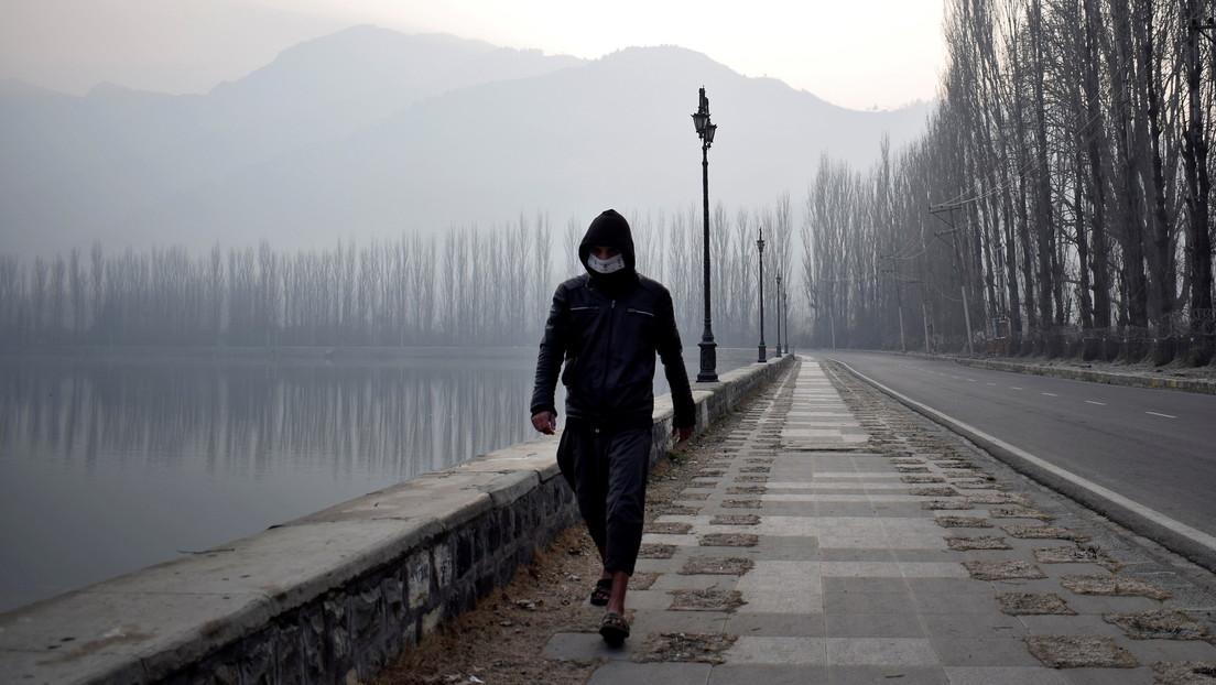Ni la pandemia pudo parar al 'Forrest Gump indio': recorre la distancia de una vuelta al mundo sin salir de su ciudad