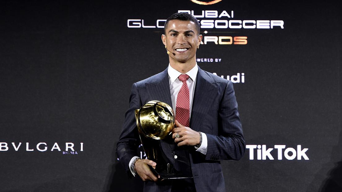 Cristiano Ronaldo es elegido el mejor futbolista del siglo XXI en los Globe Soccer Awards