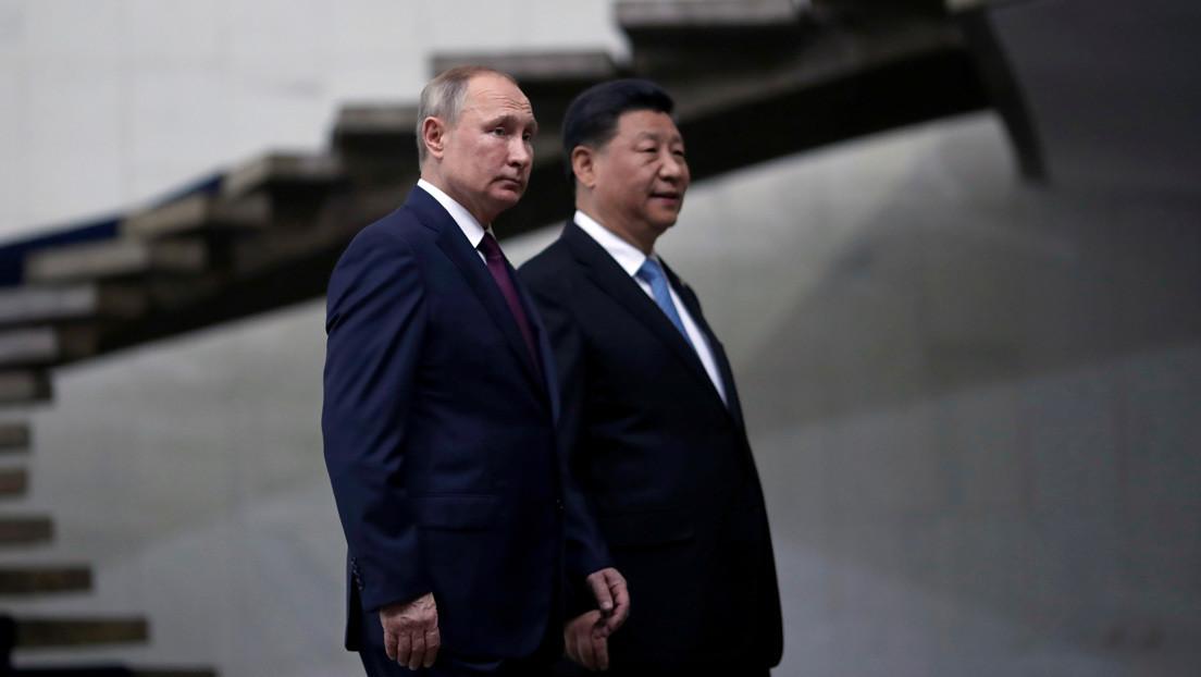 """Putin y Xi Jinping se felicitan por Año Nuevo y celebran el """"máximo histórico de las relaciones"""" alcanzado entre sus dos países"""