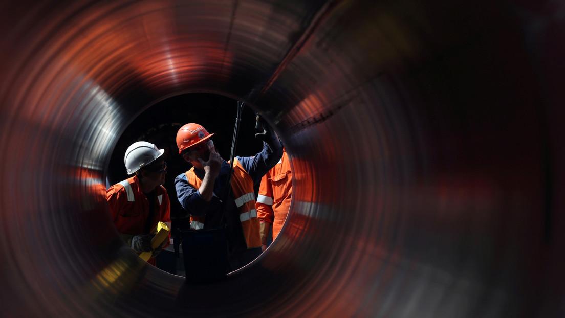 Se completa la construcción del tramo de Nord Stream 2 en la zona económica exclusiva de Alemania