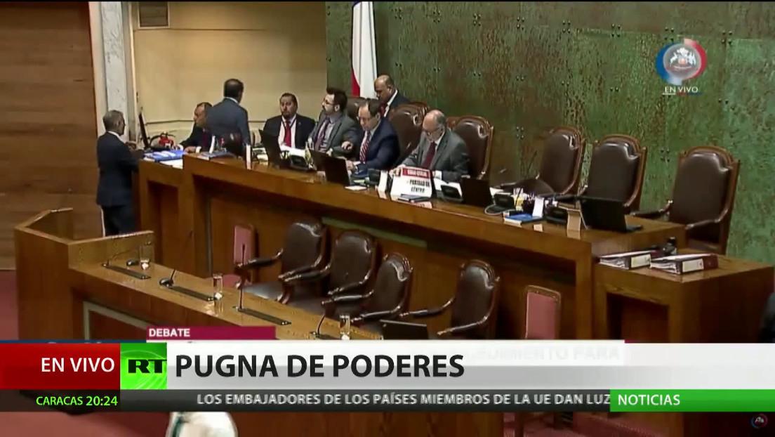 El ministro del Interior de Chile critica al Senado por rechazar la agencia de seguridad