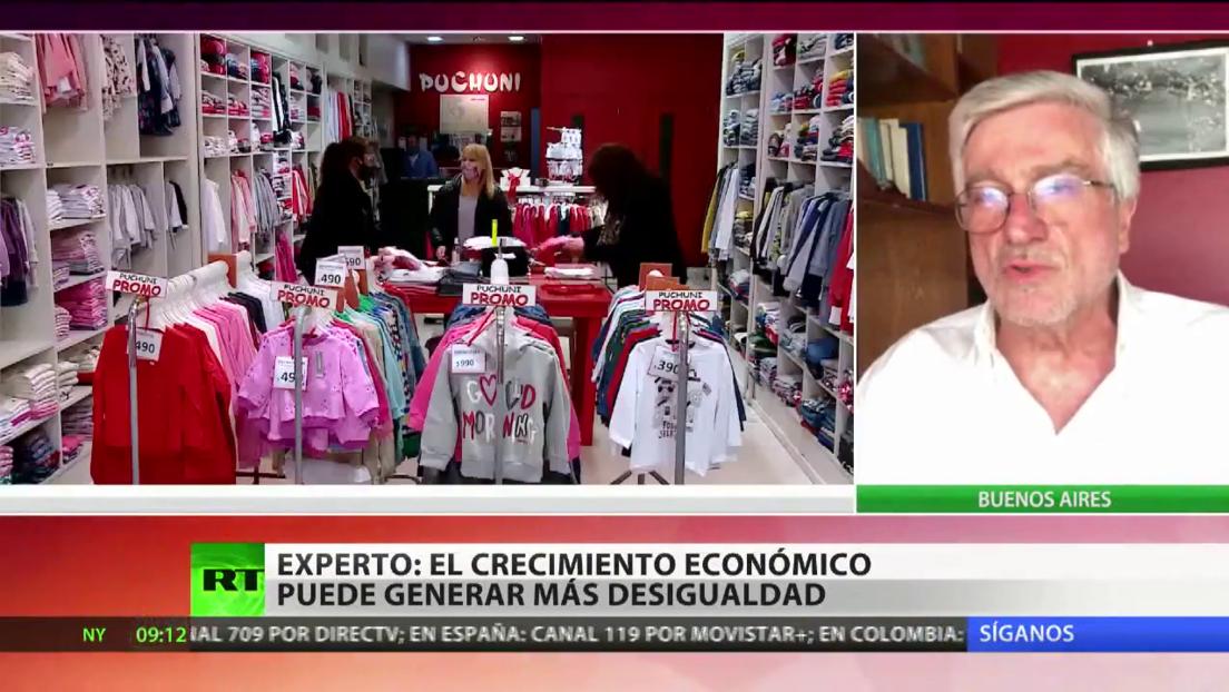 """Experto: """"El crecimiento económico puede generar más desigualdad en América Latina"""""""
