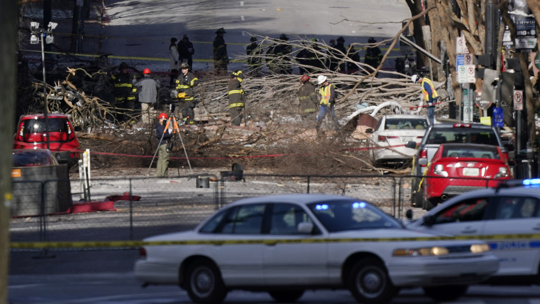 """""""El mundo nunca me olvidará"""": Las palabras que el autor de la explosión en Nashville le dijo a su vecino días antes de detonar su autocaravana"""
