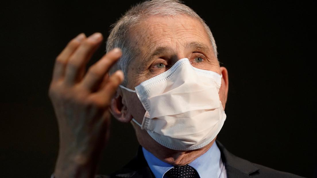 """""""El crecimiento de los contagios está fuera del control"""": Anthony Fauci alerta de que enero sería más letal para EE.UU. que diciembre"""