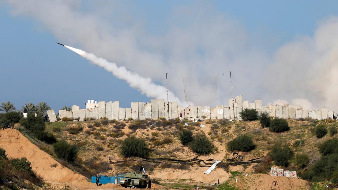 Disparan cohetes hacia el mar desde Gaza como mensaje a Israel durante unos ejercicios conjuntos de milicias palestinas (VIDEOS)