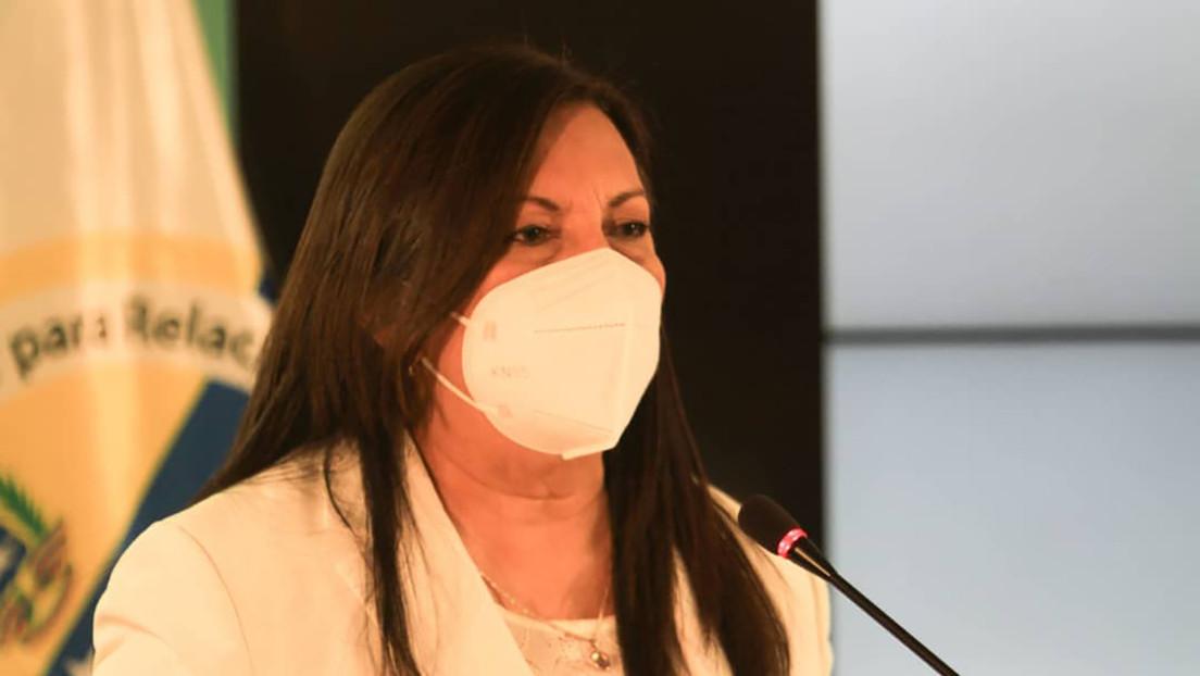 Ministra del Interior, Justicia y Paz de Venezuela, Carmen Meléndez