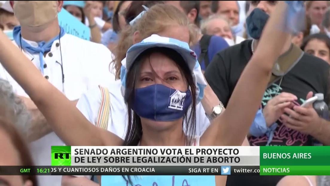 Argentina: El Senado vota el proyecto de ley sobre la legalización del aborto