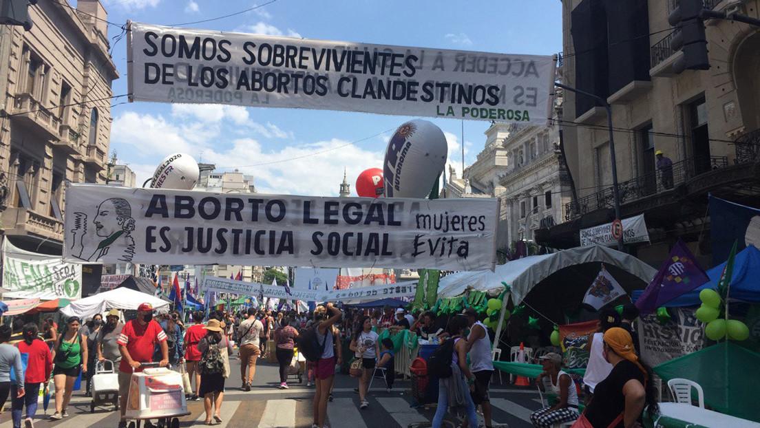 Senado de Argentina comienza la sesión crucial para decidir si legaliza el aborto o lo mantiene en la clandestinidad
