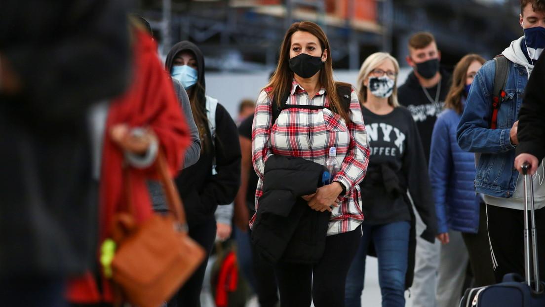 Detectan el primer caso de contagio con la nueva variante británica del covid-19 en EE.UU. en una persona sin antecedentes de viajes