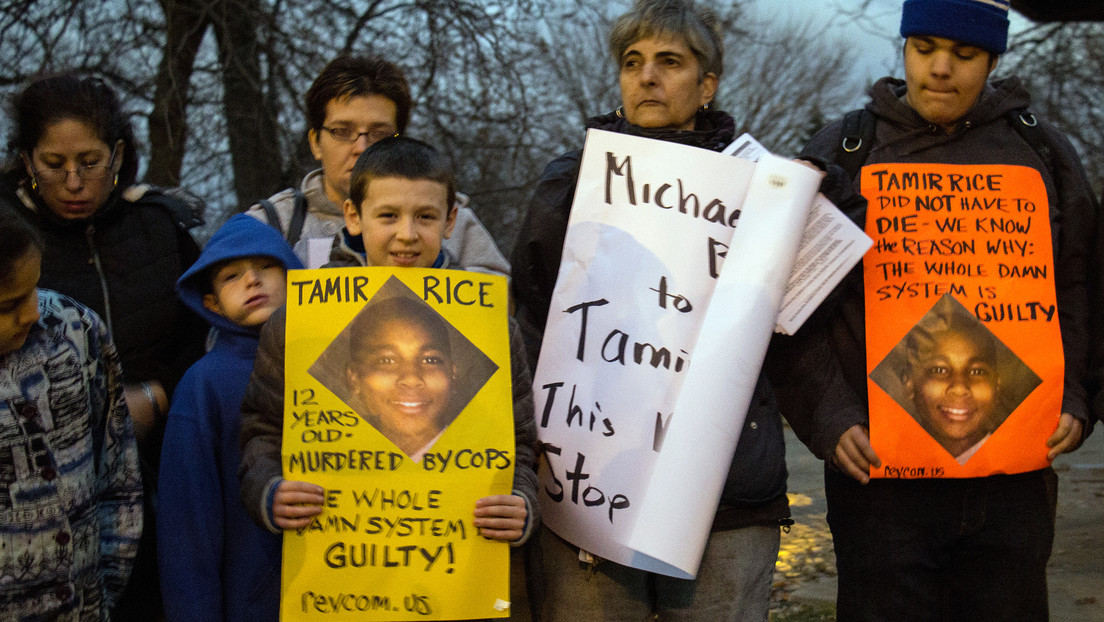 EE.UU. no presentará cargos contra los dos policías implicados en la muerte del afroamericano de 12 años Tamir Rice en el 2014