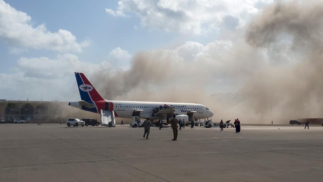 Asciende a 27 el número de fallecidos por una explosión en un aeropuerto de Yemen
