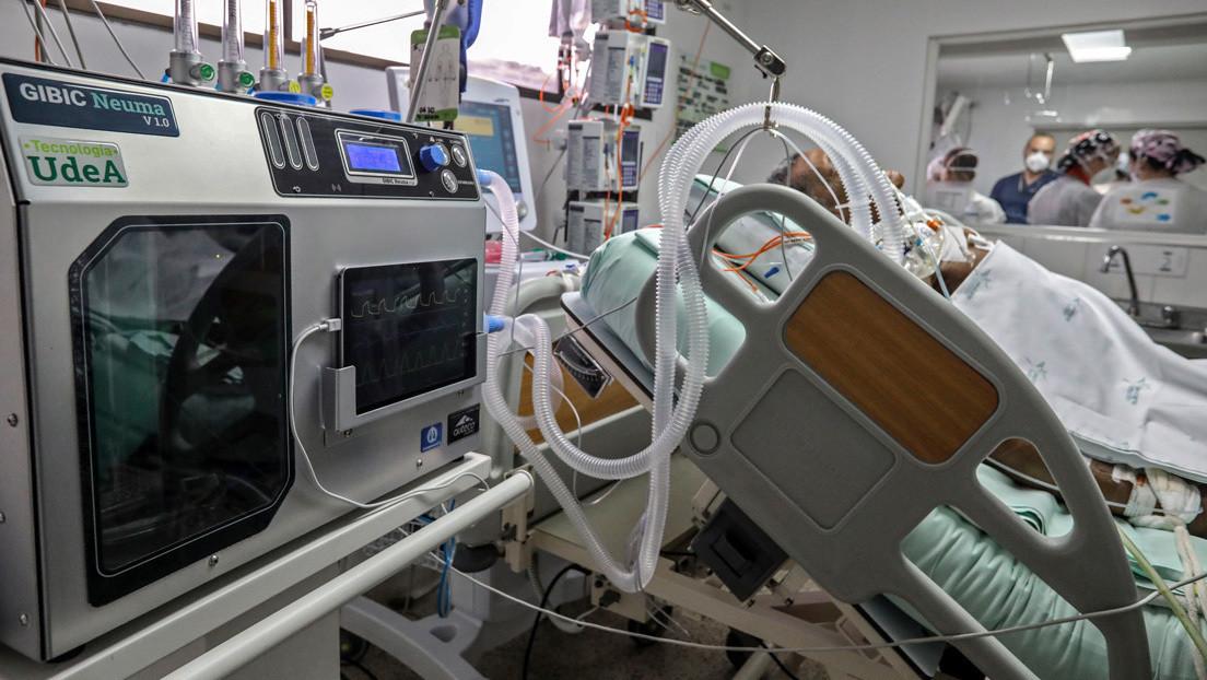Departamentos colombianos reportan una situación crítica en las unidades de cuidados intensivos por el covid-19