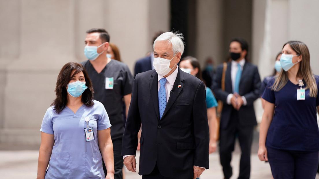 Piñera anuncia la llegada a Chile de un segundo cargamento con 11.700 dosis de la vacuna de Pfizer contra el coronavirus