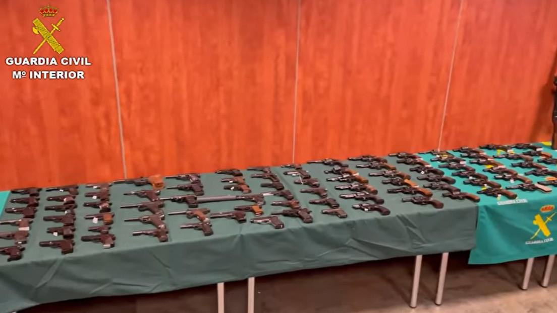 Desmantelan en España un grupo de traficantes de armas y se topan con un 'museo nazi'