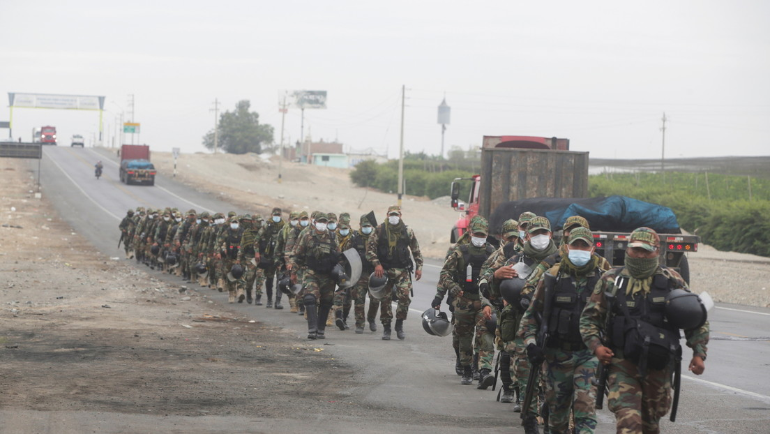 Reportan dos fallecidos por disparos de arma de fuego en las protestas contra la ley de Promoción Agraria en Perú