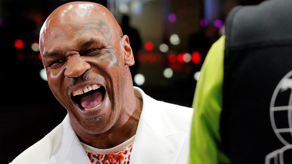 """Tyson ingiere hongos alucinógenos y marihuana y promete que Mayweather """"pateará el trasero"""" a Logan Paul, en una inusual entrevista con el 'youtuber'"""
