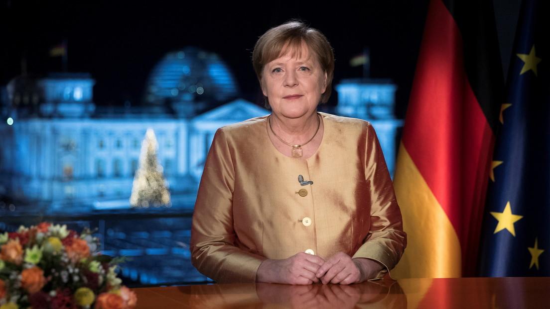 Angela Merkel afirma que la pandemia hizo que su último año en el cargo fuera el más difícil de los 15 en el poder