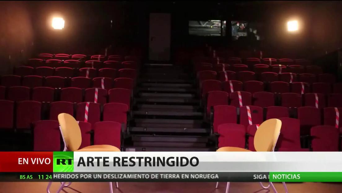 La pandemia limita la reinserción de reclusos a través del teatro
