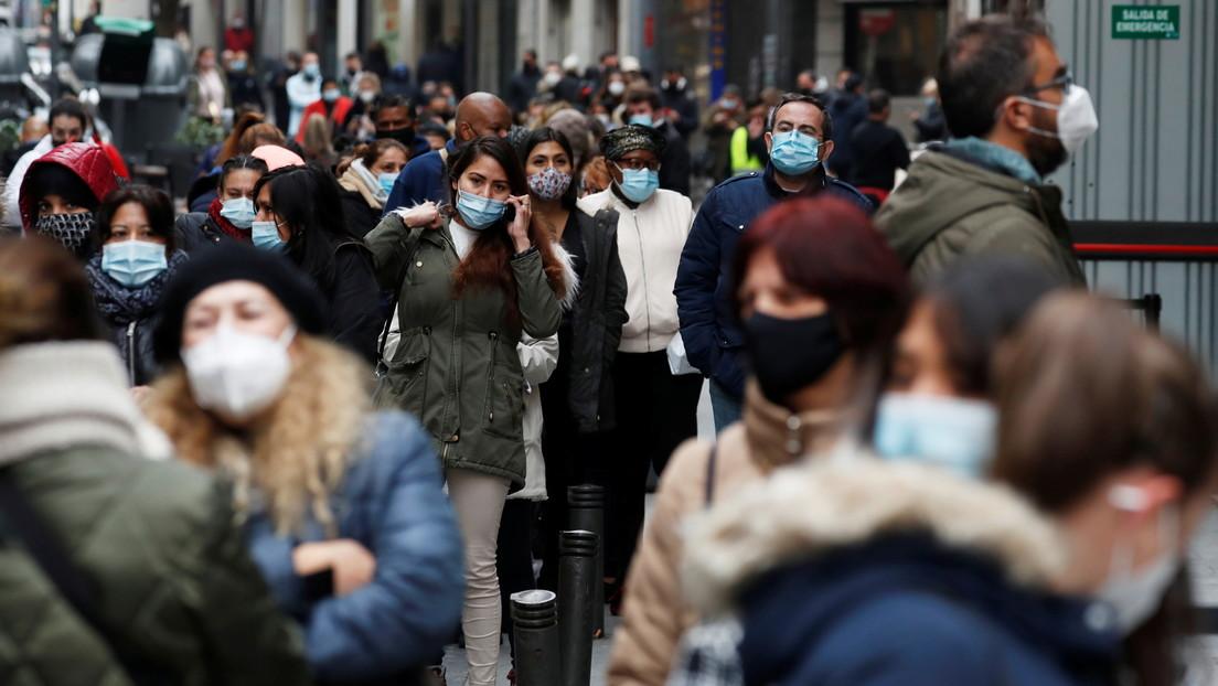 España recibe la Nochevieja con los contagios en aumento en todo el país: 18.047 nuevos casos y 148 fallecidos
