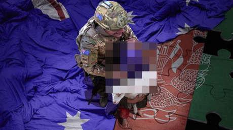 El creador de la imagen manipulada de un soldado australiano matando a un niño afgano amenaza con más obras similares en respuesta a las críticas