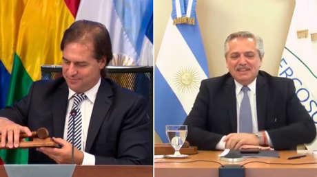 Fernández, Bolsonaro, Abdo y Lacalle convocan a reforzar Mercosur más allá de las diferencias ideológicas